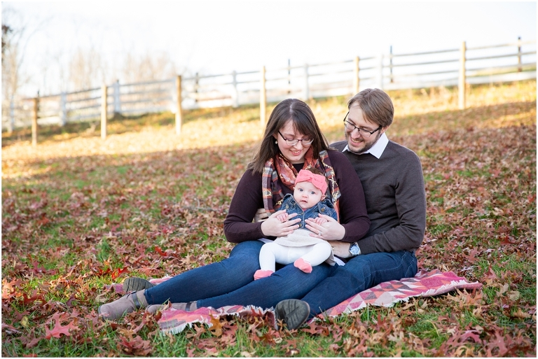 Fall baby photos