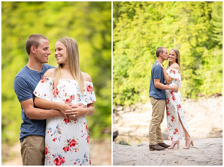 deep creek lake engagement